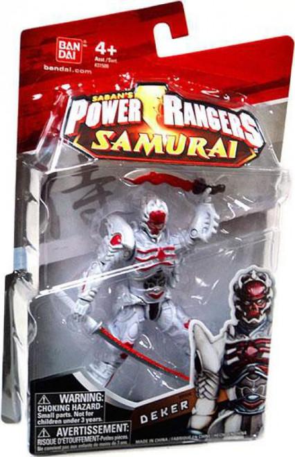 Power Rangers Samurai Deker Action Figure