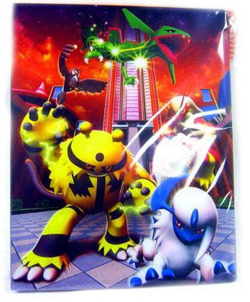 Ultra Pro Pokemon Trading Card Game Card Supplies Power [Pulse] of the Frontier 4-Pocket Binder