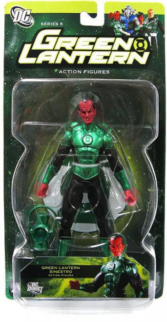 DC Green Lantern Series 5 Sinestro Action Figure