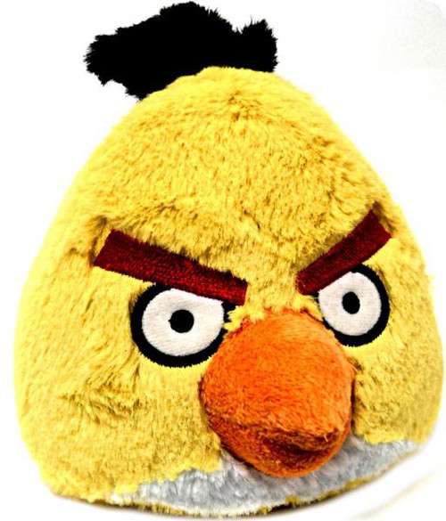 Angry Birds Yellow Bird 8-Inch Plush [With Sound]