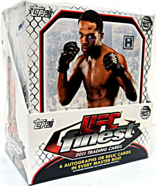 UFC Ultimate Fighting Championship 2011 Finest Trading Card HOBBY Box [12 Packs]