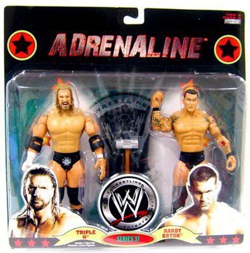 WWE Wrestling Adrenaline Series 37 Triple H & Randy Orton Action Figure 2-Pack