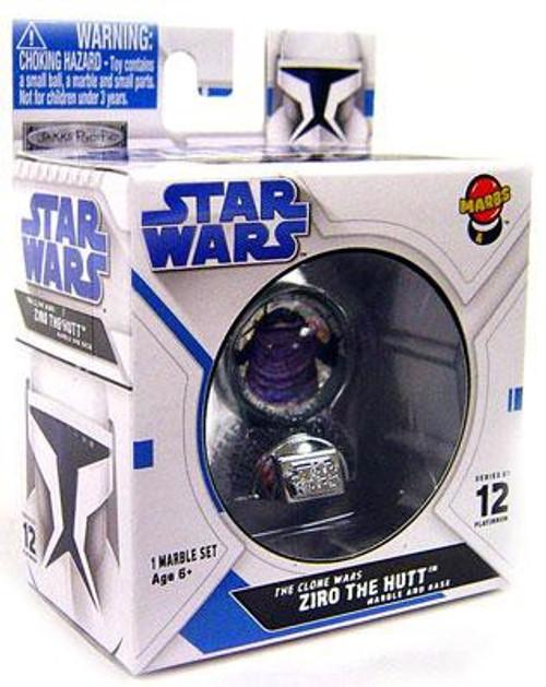 Star Wars The Clone Wars Marbs Series 1 Ziro the Hutt Marble