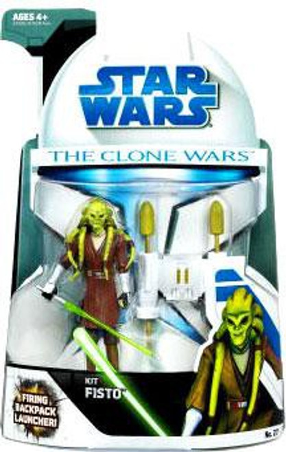 Star Wars The Clone Wars 2008 Kit Fisto Action Figure #27