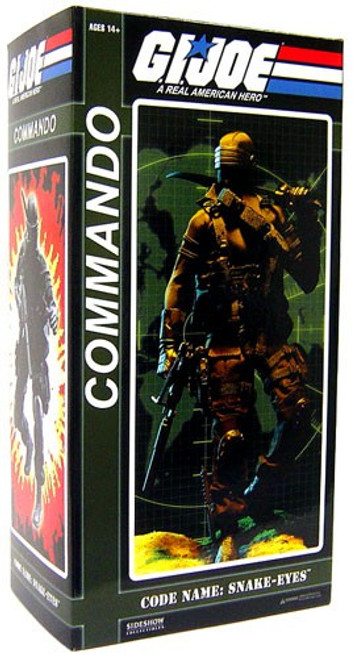 GI Joe Snake Eyes Collectible Figure [Commando]