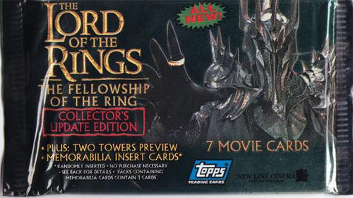 The Lord of the Rings Update Edition The Fellowship of the Ring Trading Card Pack