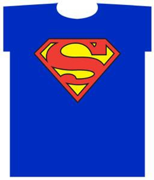 DC Superman Logo T-Shirt [Youth Small]