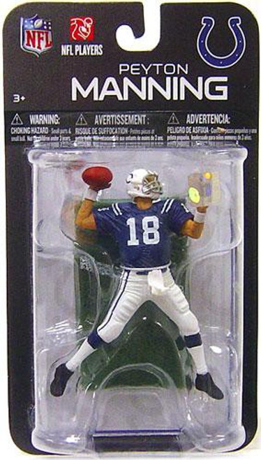 McFarlane Toys NFL Indianapolis Colts Sports Picks Series 7 Mini Peyton Manning 3-Inch Mini Figure