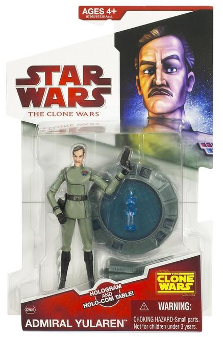 Star Wars The Clone Wars 2009 Admiral Yularen Action Figure CW07