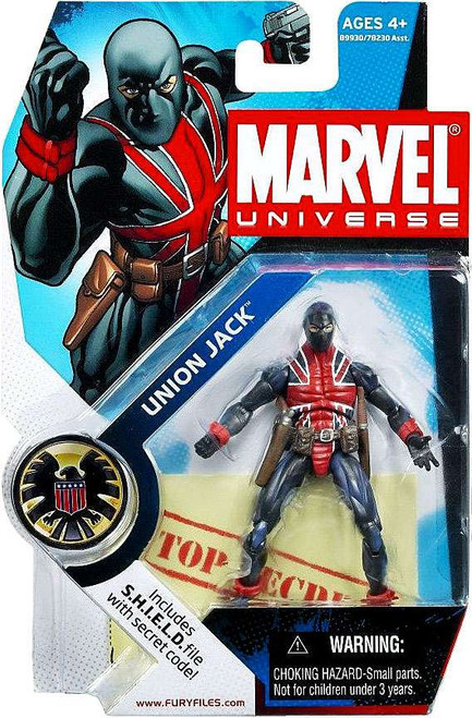 Marvel Universe Series 4 Union Jack Action Figure #26