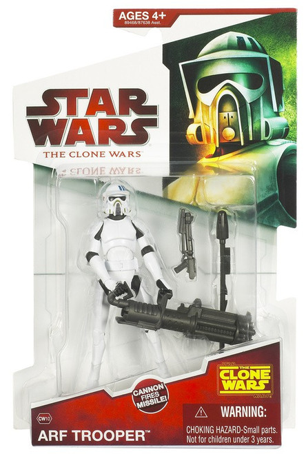 Star Wars The Clone Wars 2009 ARF Trooper Action Figure CW10