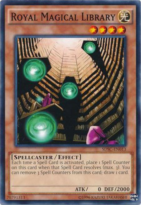 common - NM//Mint Yu-Gi-Oh Card SKILLED DARK MAGICIAN SDSC-EN007