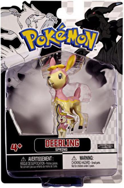 Pokemon Black & White Series 2 Basic Pink Deerling Figure [Spring]