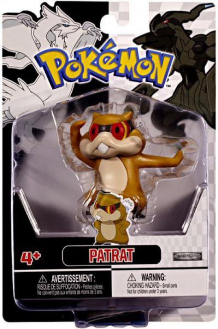 Pokemon Black & White Series 2 Basic Patrat Figure