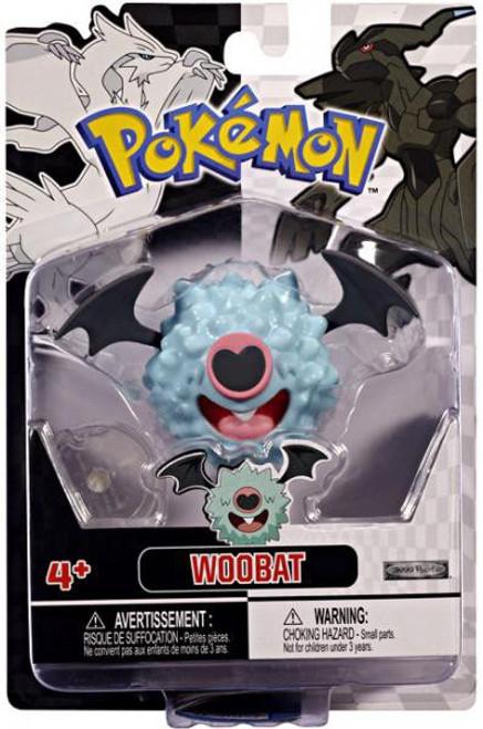 Pokemon Black & White Series 2 Basic Woobat Figure