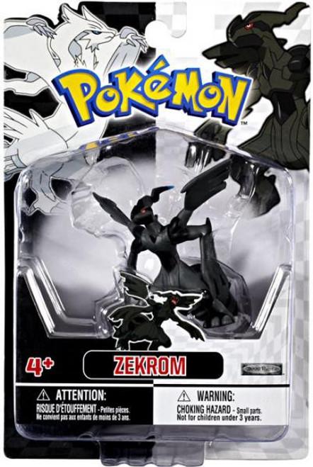 Pokemon Black & White Series 2 Basic Zekrom Figure