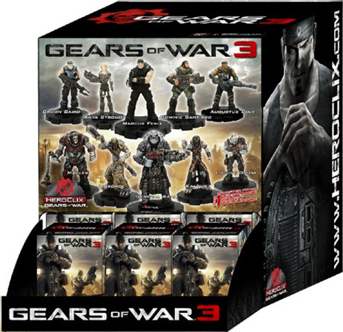 HeroClix Gears of War 3 Booster Box