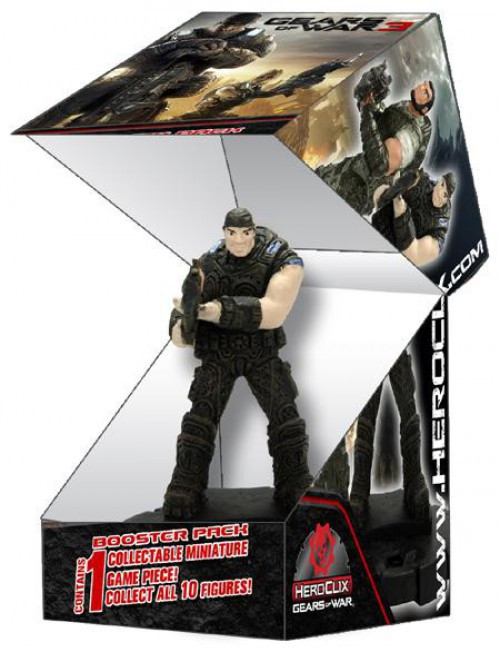 Gears of War 3 HeroClix Gears of War Booster Pack