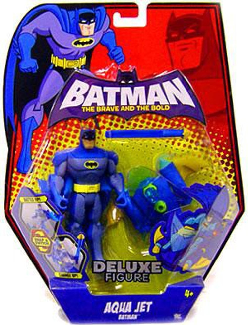 The Brave and the Bold Deluxe Aqua Jet Batman Action Figure
