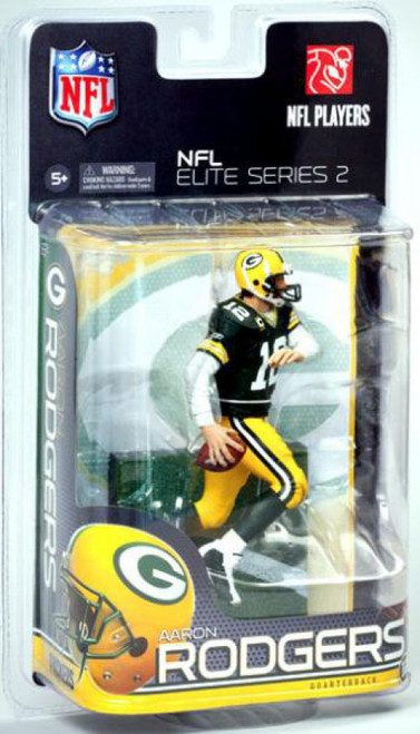 McFarlane Toys NFL Green Bay Packers Sports Picks Elite 2011 Series 2 Aaron Rodgers Action Figure