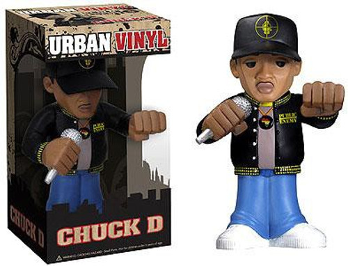 Public Enemy Funko Rocks Urban Vinyl Chuck D. 6-Inch Vinyl Figure [Public Enemy]