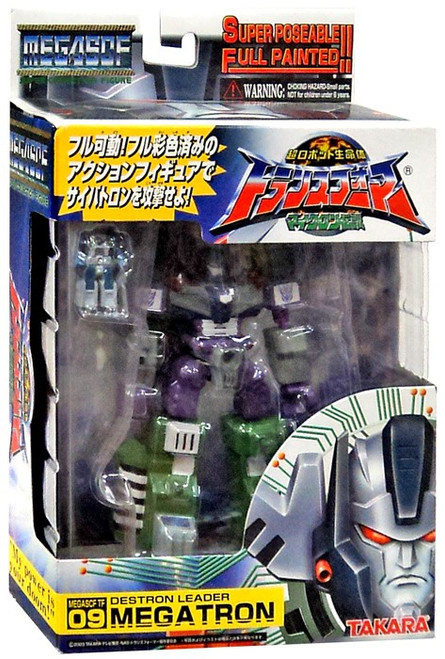 Transformers Armada Japanese Super Poseable Collection Megatron Action Figure SCF 009
