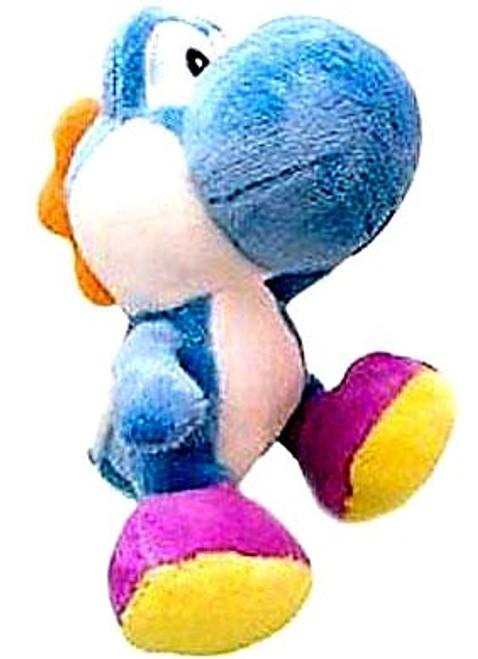 Nintendo New Super Mario Bros Wii Yoshi 6-Inch Plush [Light Blue]