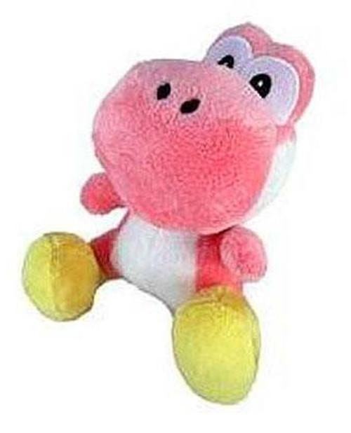 Nintendo New Super Mario Bros Wii Yoshi 6-Inch Plush [Pink]