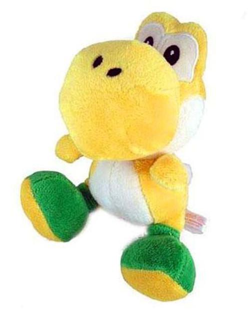 Nintendo New Super Mario Bros Wii Yoshi 6-Inch Plush [Yellow]