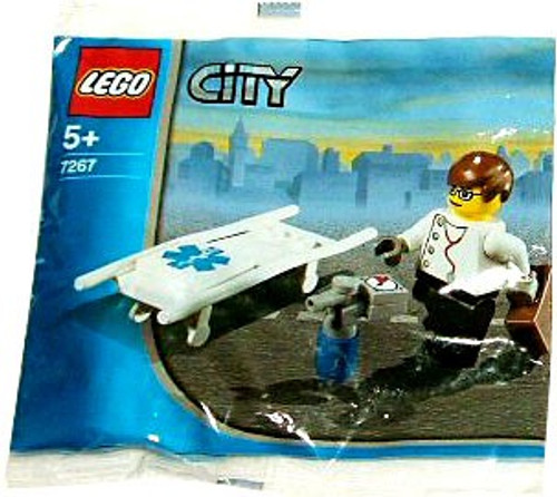LEGO City Doctor Mini Set #7267 [Bagged]
