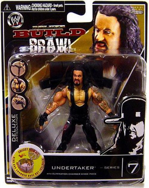 WWE Wrestling Build N' Brawl Series 7 Undertaker Action Figure