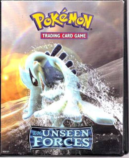 Ultra Pro Pokemon Trading Card Game EX Unseen Forces 4-Pocket Binder