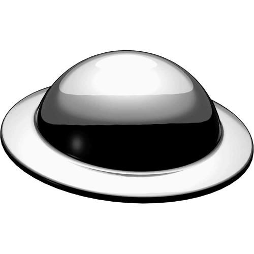 BrickArms Brodie Helmet 2.5-Inch [Gray]