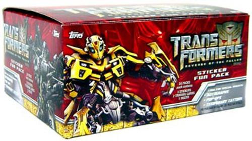 Transformers Revenge of the Fallen Trading Card Box [24 Packs]