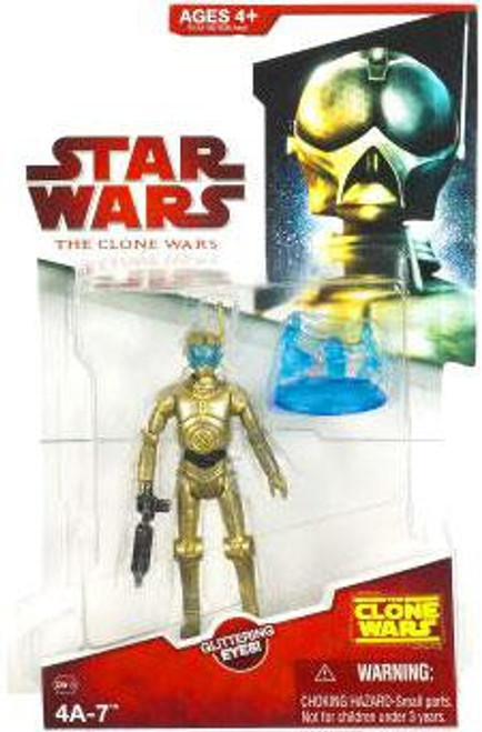 Star Wars The Clone Wars 2009 4A-7 Action Figure CW13
