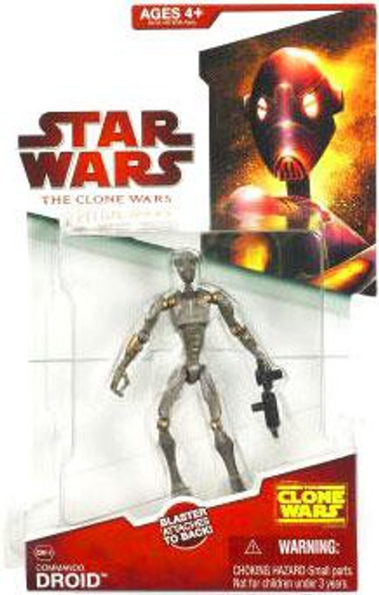 Star Wars The Clone Wars 2009 Commando Droid Action Figure CW-16