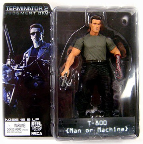 NECA Terminator 2 Judgment Day Series 2 T-800 Action Figure [Man or Machine]