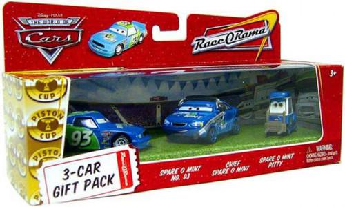 Disney / Pixar Cars The World of Cars Multi-Packs Spare O Mint 3-Car Gift Pack Diecast Car Set
