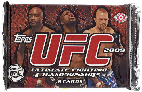 UFC Topps 2009 Round 2 Trading Card HOBBY Pack [8 Cards]