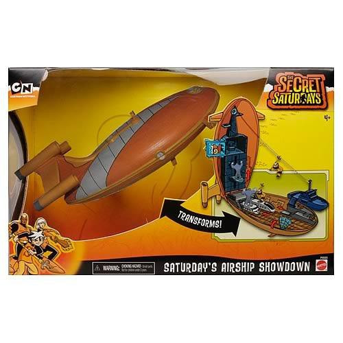 The Secret Saturdays Secret Adventure Airship Showdown Playset
