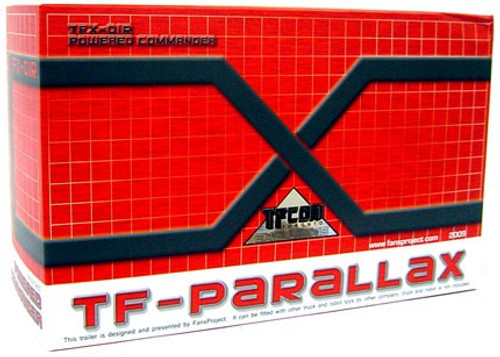 Transformers TF-Parallax TFX-OIR Powered Commander Trailer Upgrade Kit Exclusive