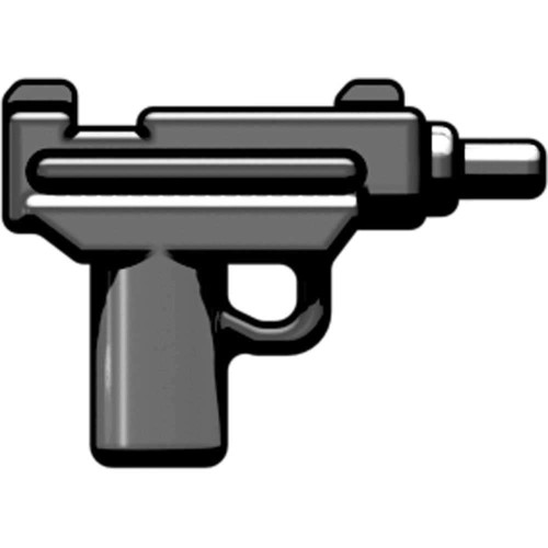 BrickArms Micro Uzi SMG 2.5-Inch [Gunmetal]