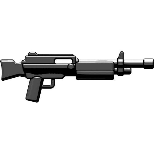 BrickArms Combat LMG 2.5-Inch [Black]