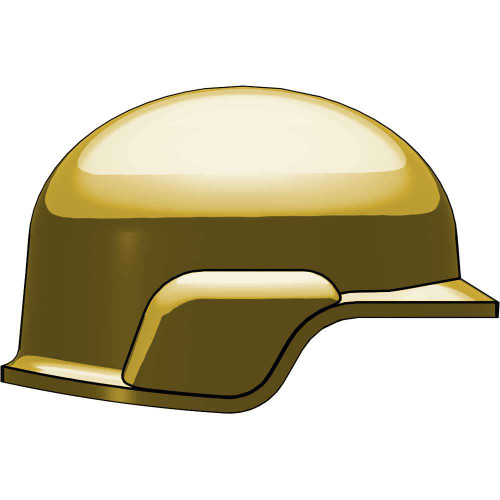 BrickArms Modern Combat Helmet 2.5-Inch [Dark Tan]