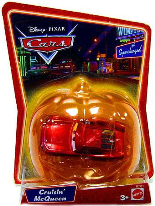 Disney / Pixar Cars Supercharged Cruisin' McQueen Diecast Car [Halloween Package]