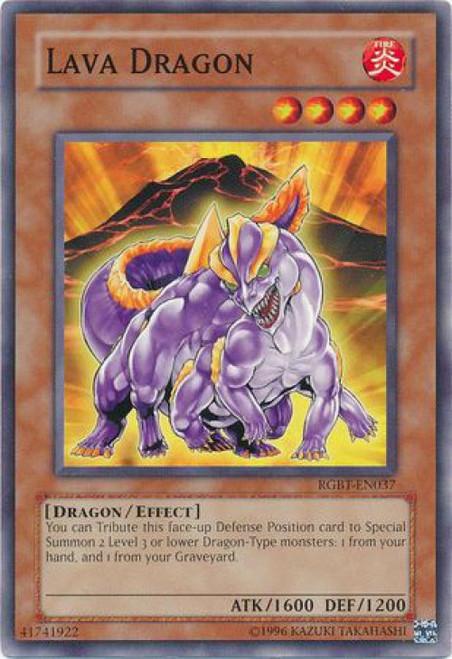 YuGiOh YuGiOh 5D's Raging Battle Common Lava Dragon RGBT-EN037