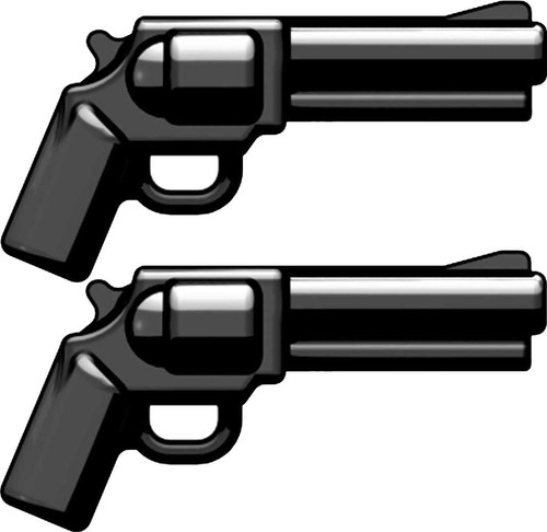 BrickArms Set of 2 SW500 Magnum Revolvers 2.5-Inch [Black]