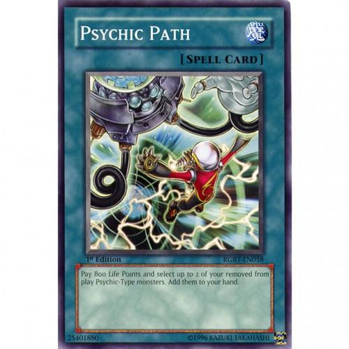 YuGiOh 5D's Raging Battle Common Psychic Path RGBT-EN058