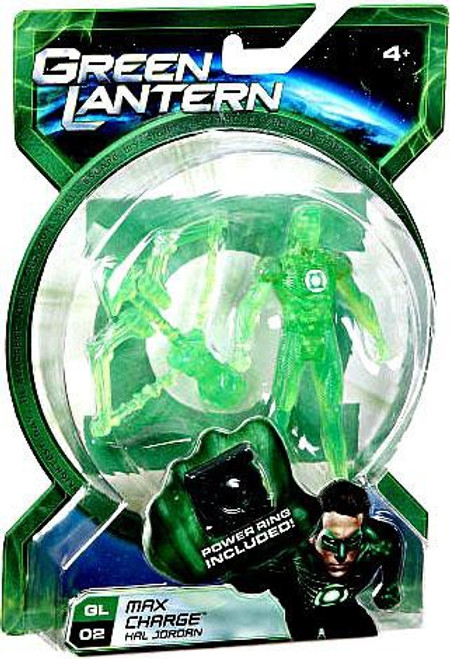 Green Lantern Movie Hal Jordan Action Figure GL02 [Max Charge]