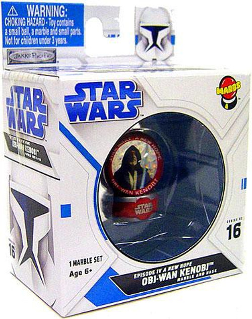 Star Wars A New Hope Marbs Series 2 Obi-Wan Kenobi Marble #16